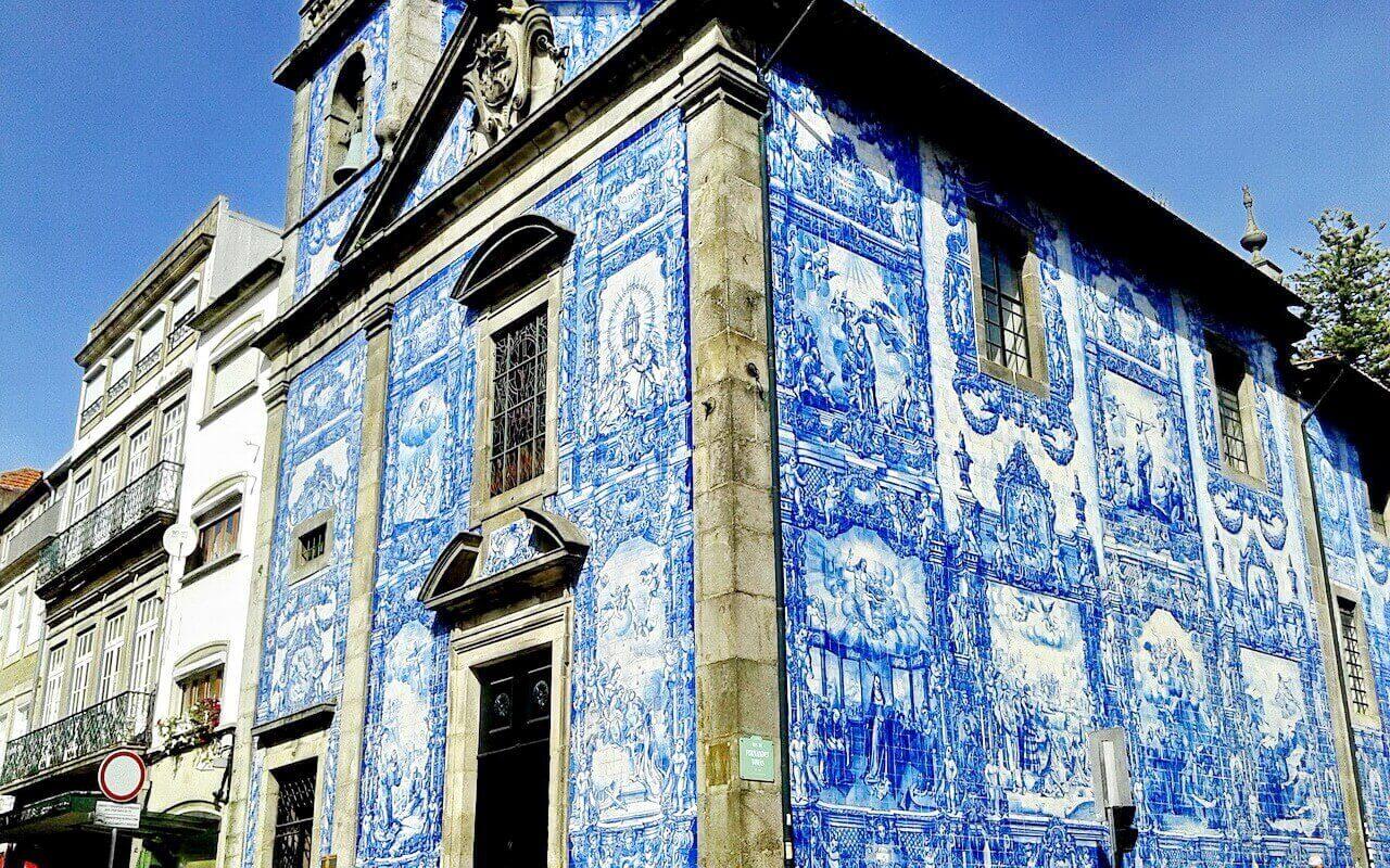 Porto, Capela das Almas, Rua Santa Catarina