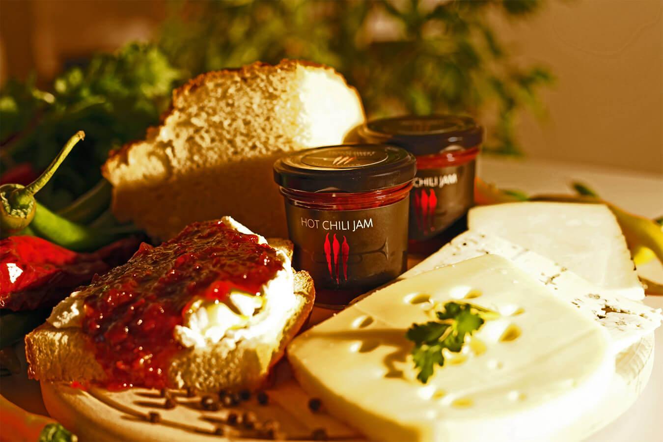 Hot chili jam