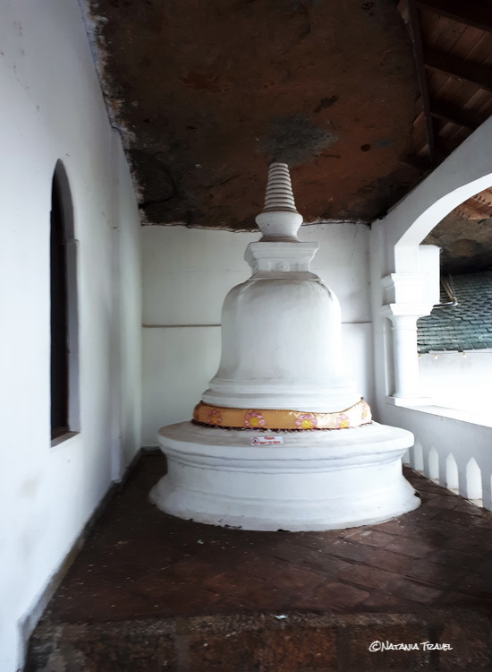 The Stupa in passage cave 2