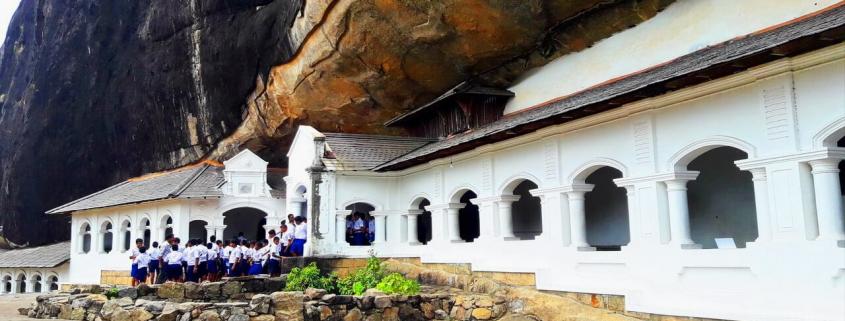 Dambulla caves complex