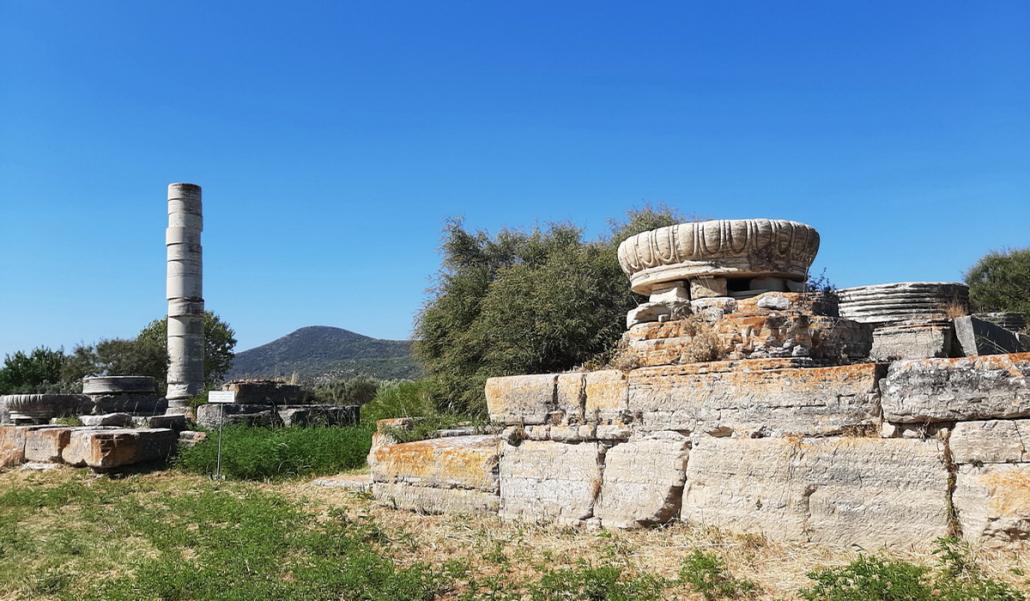 Ancient Temple of Hera, Samos