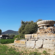 Ancient Temple of Hera, Samos