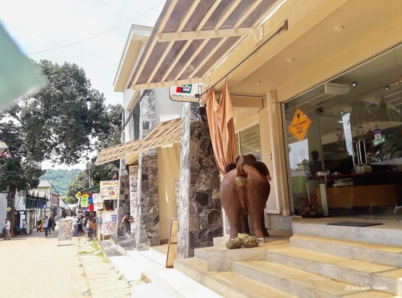 Dung-Eco Maximus shop in Pinnawala