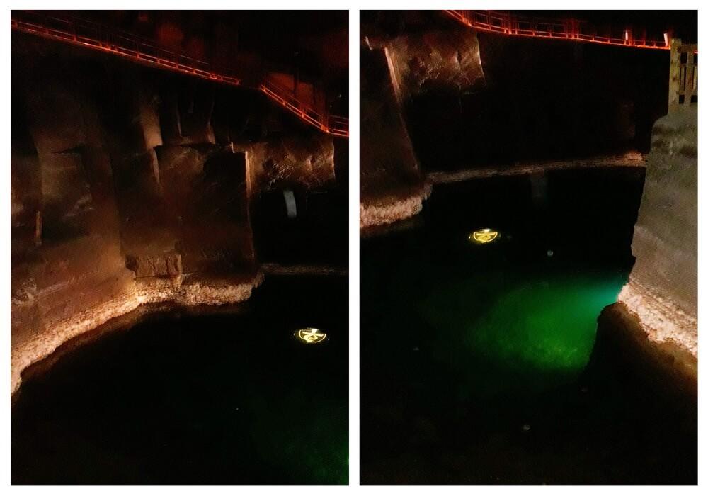 Underground lake, Wieliczka