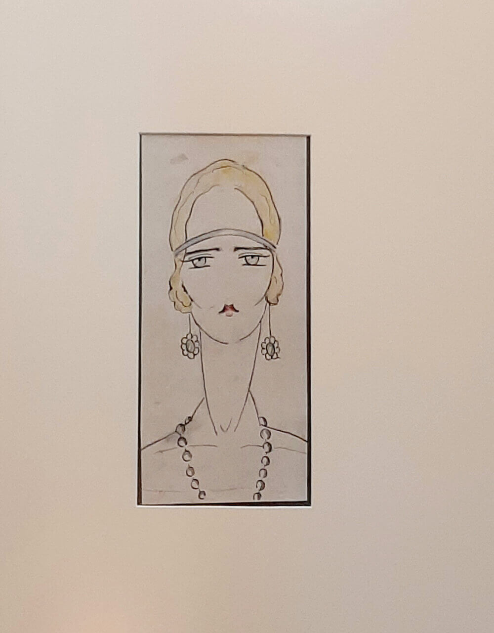 The caricature of Mary Karadjordjević