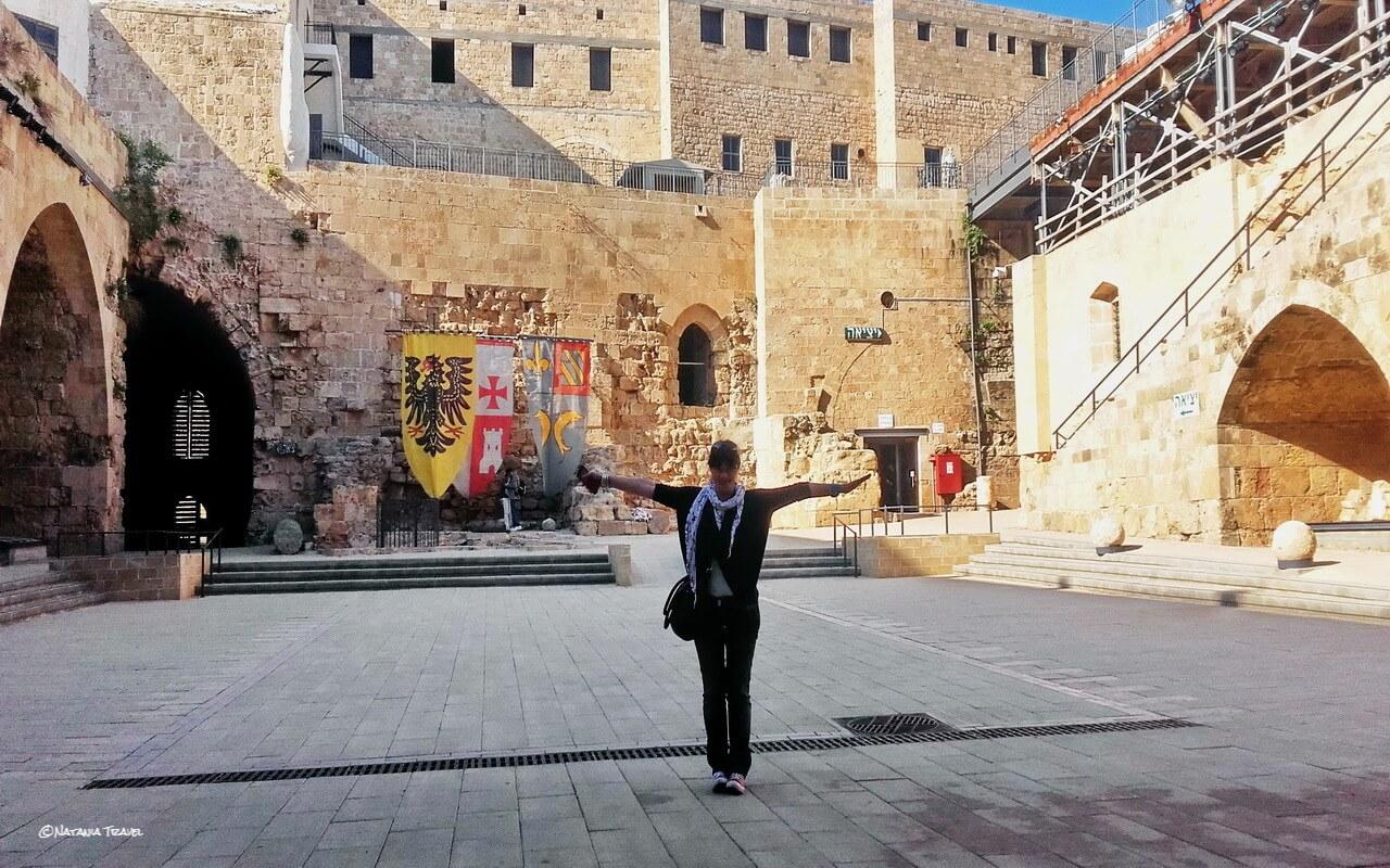 Akko, Knights Halls fortress, Israel, Izrael