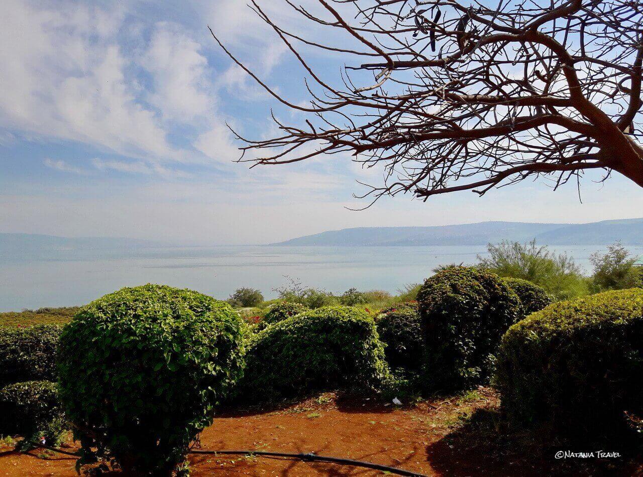 Sea of Galilee, the Mount of Beatitudes