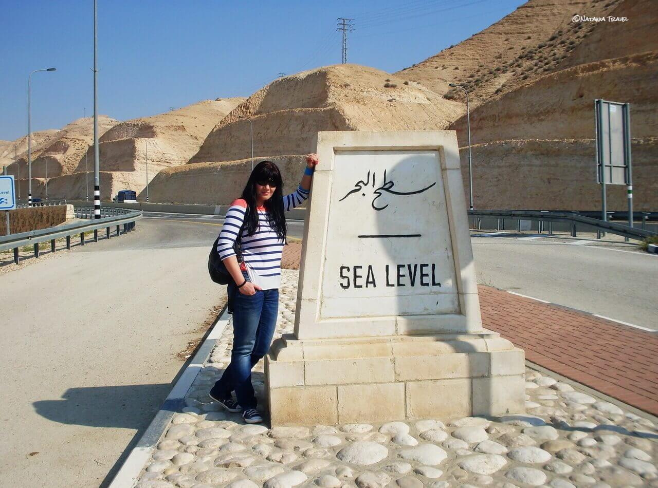 Sea level, Israel
