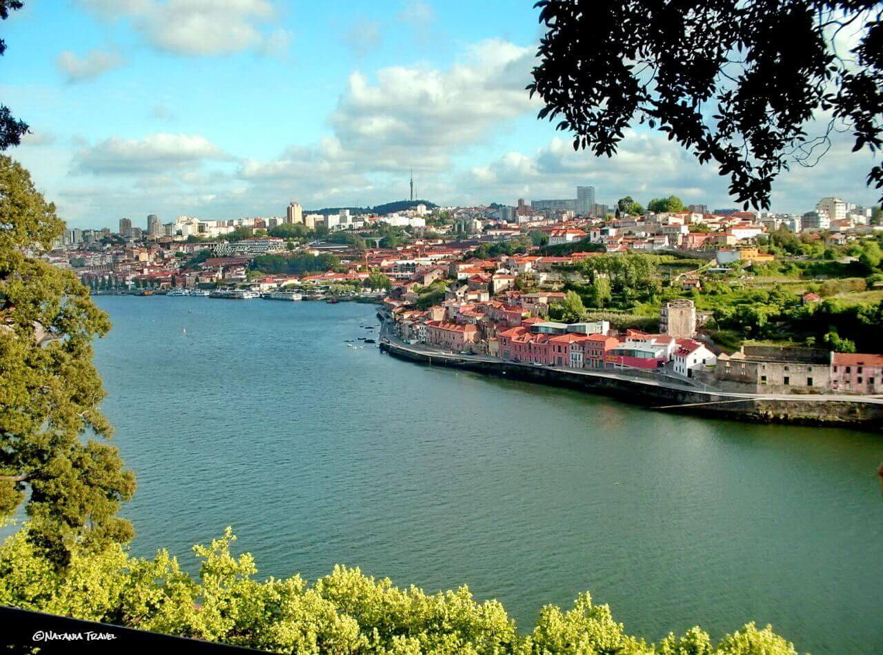 Porto, river Douro and Vila Nova de Gaia