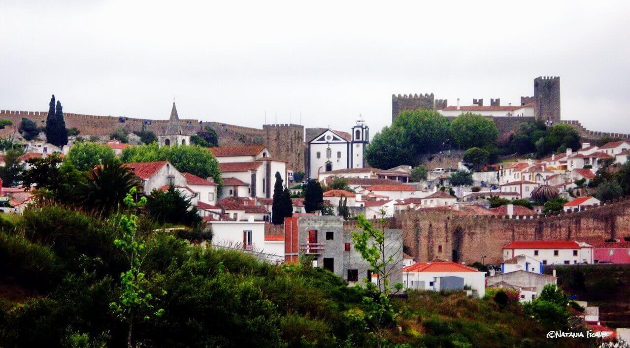 Obidos walls