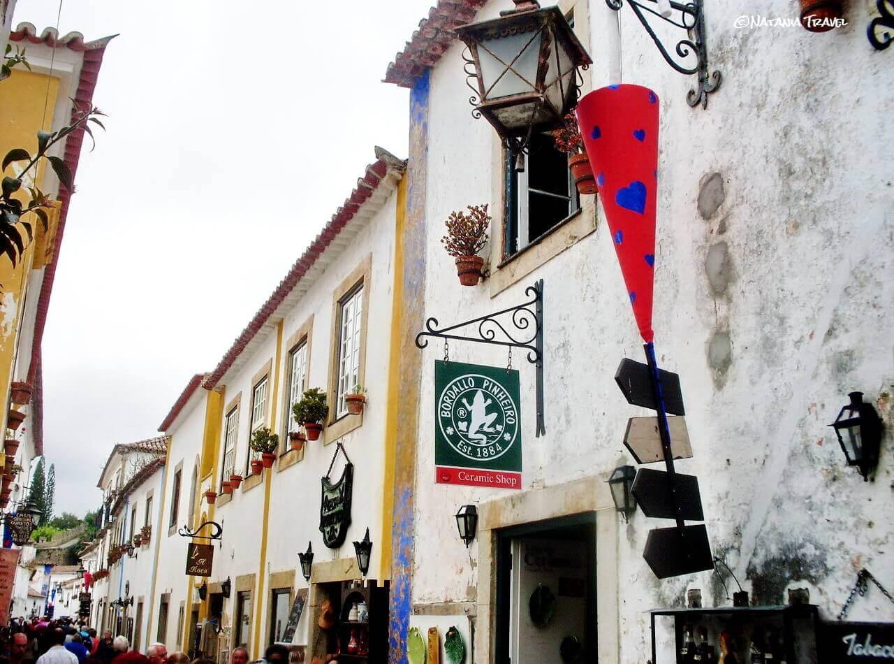 Obidos, Rua Direita, chocolate festival
