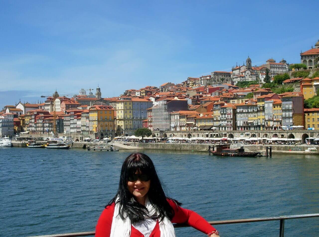 Oporto, the river Douro and Riberia district