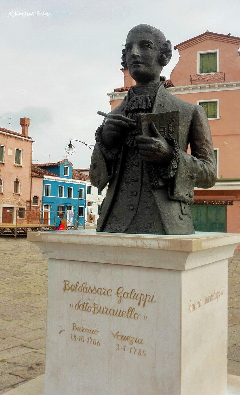 Baldassare Galuppi statue