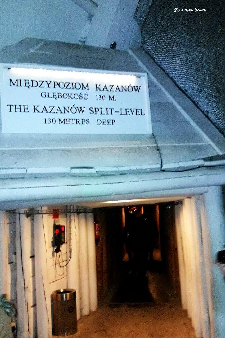 The third level in Wieliczka salt mine