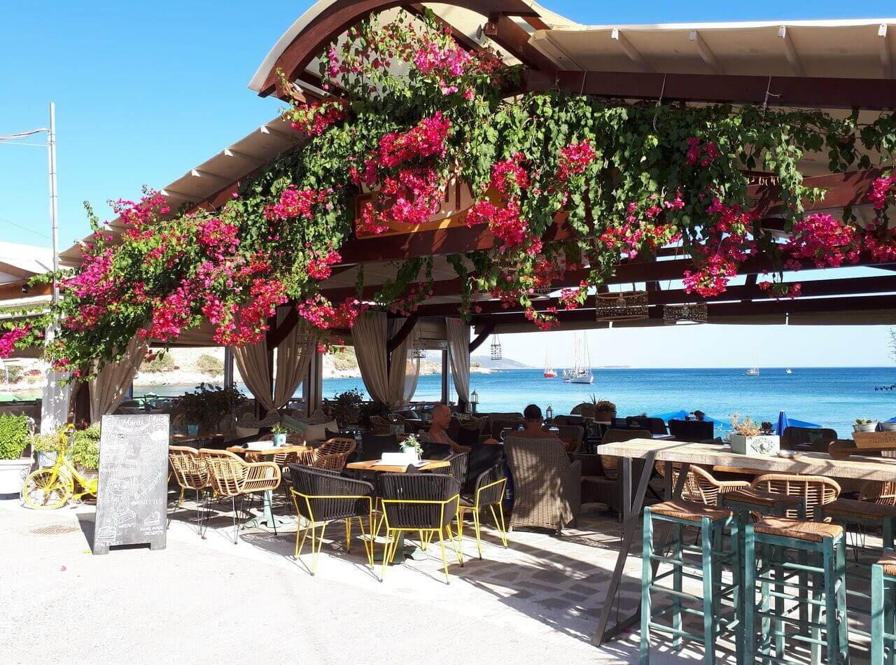 Restaurant, Remitaki beach, Pythagorion