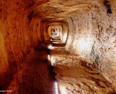 Eupalinos tunnel, Eupalinov tunel, Samos