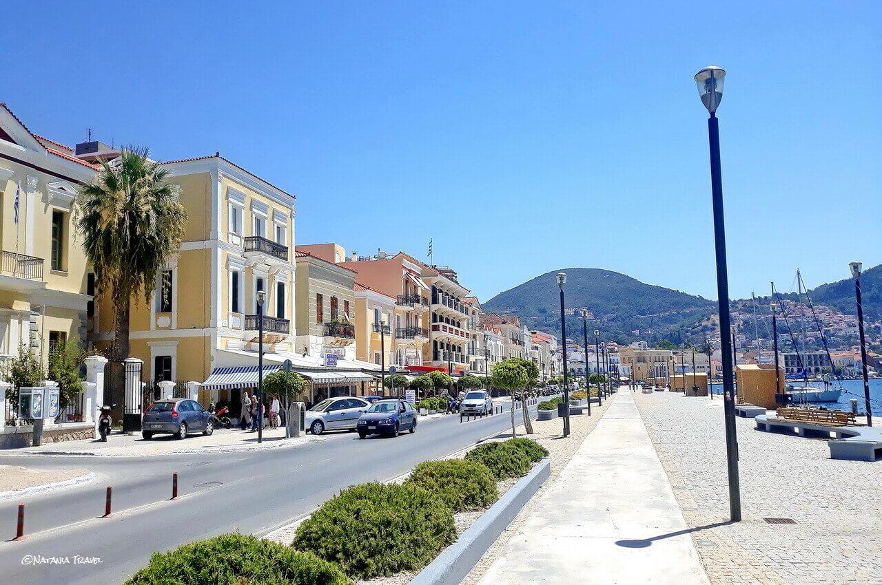 Promenade in Vathy, Samos