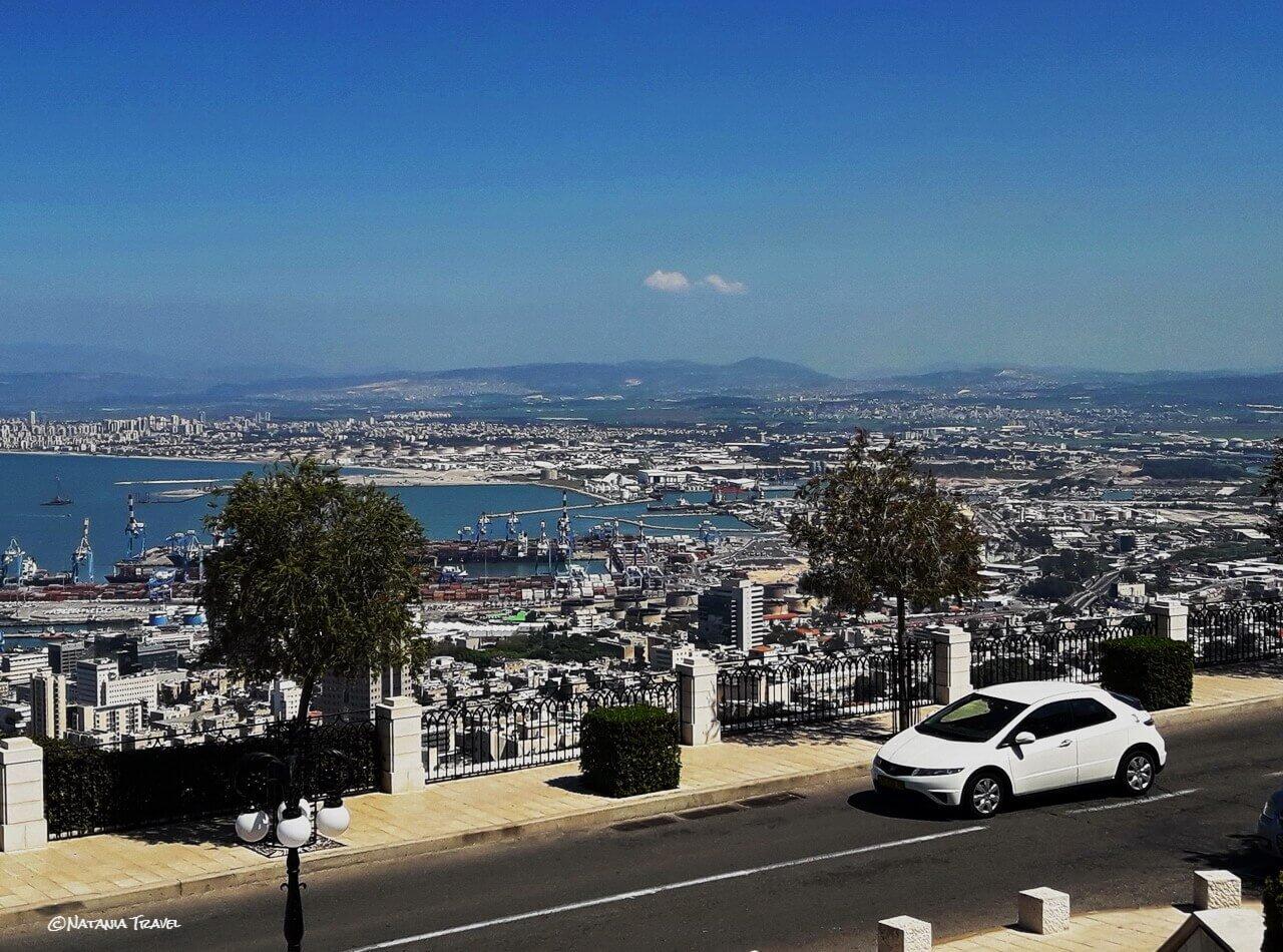 The view on Haifa Bay