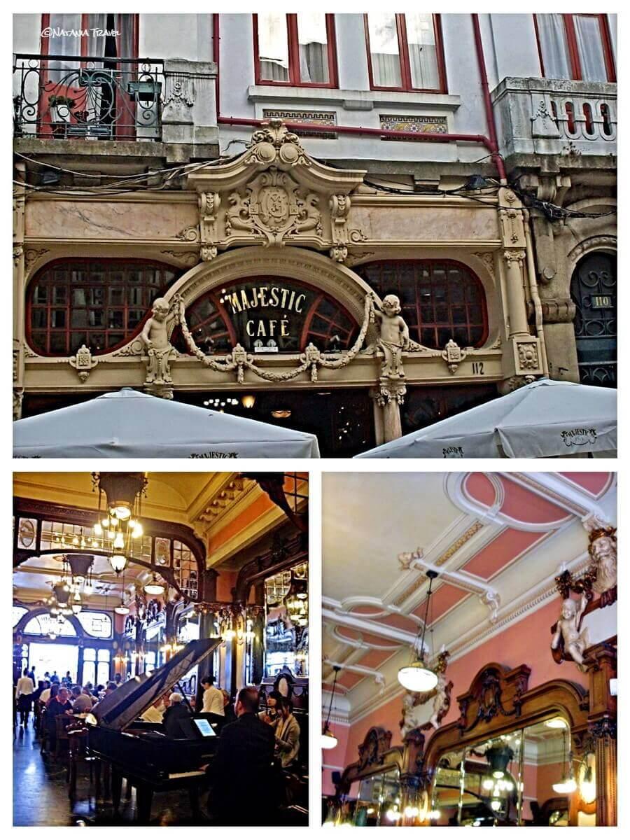 Oporto, Majestic cafe