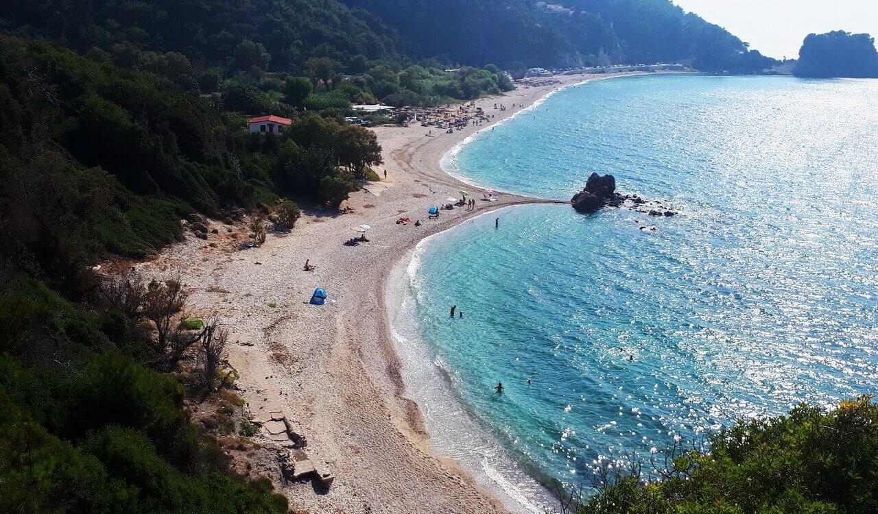 Potami beach, beaches