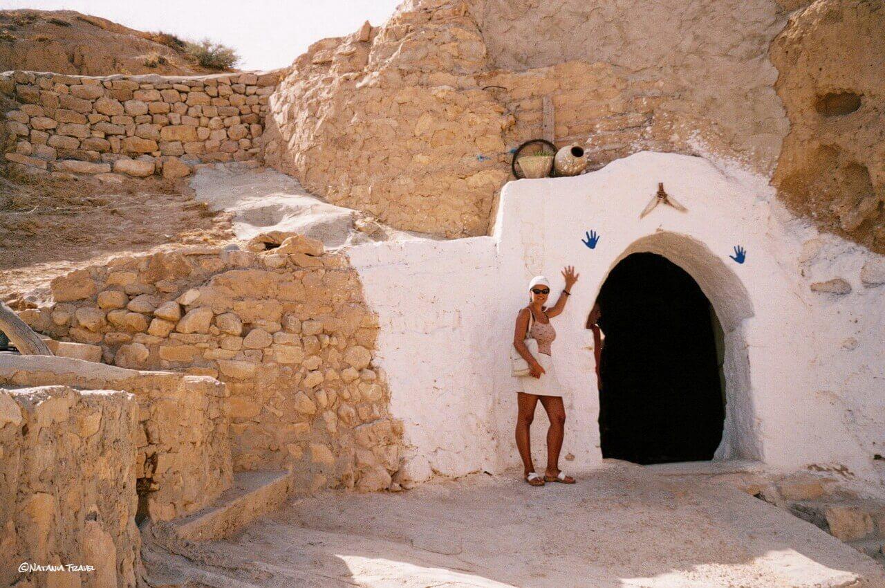 Matmata's underground house, Sahara