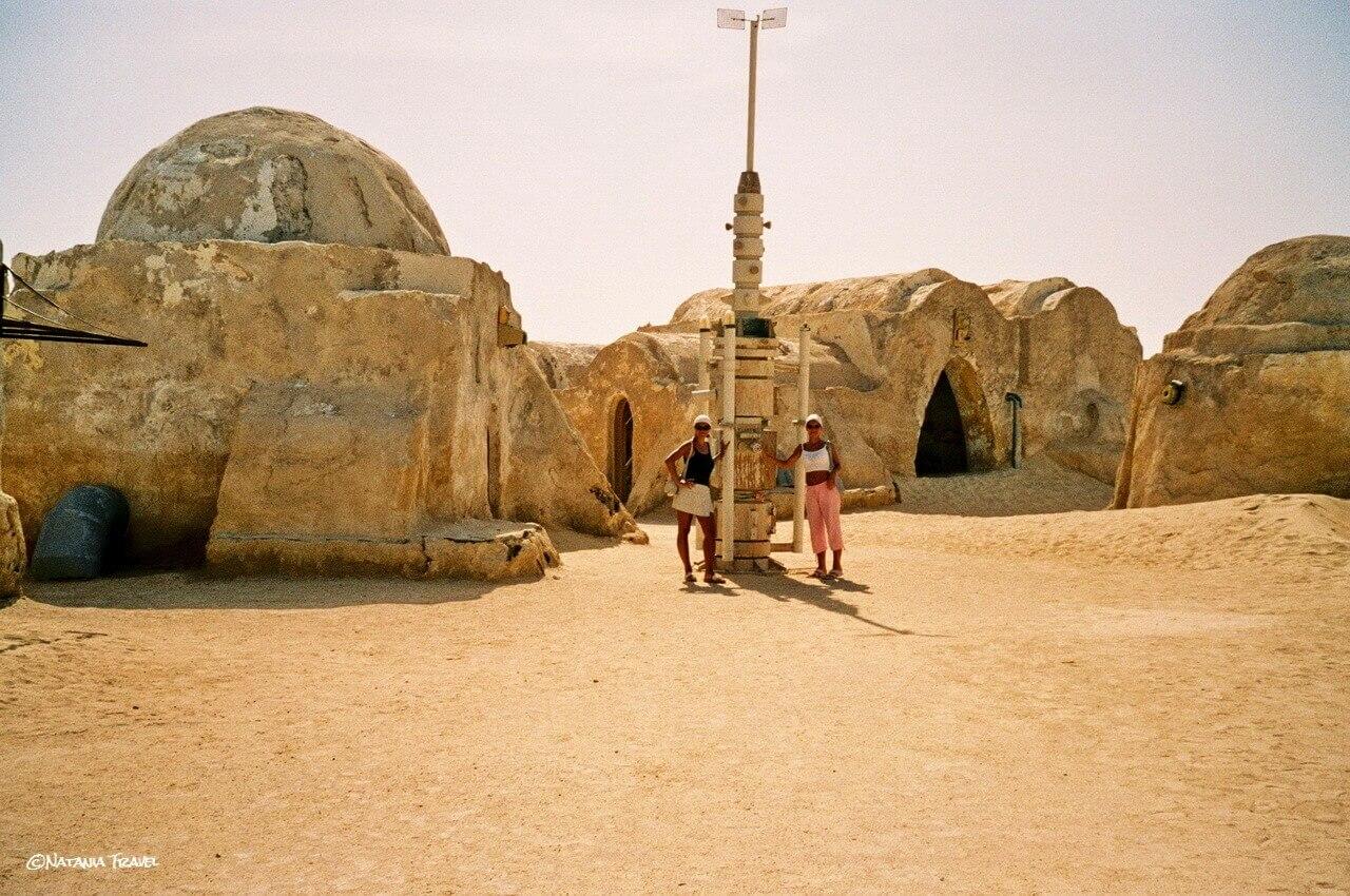 Mos Espa film set from Star Wars: Episode 1, Sahara