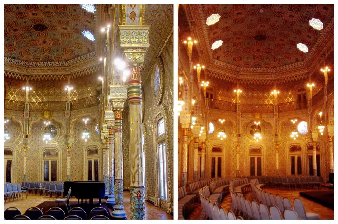 Arabic hall in Palacio da Bolsa, Porto