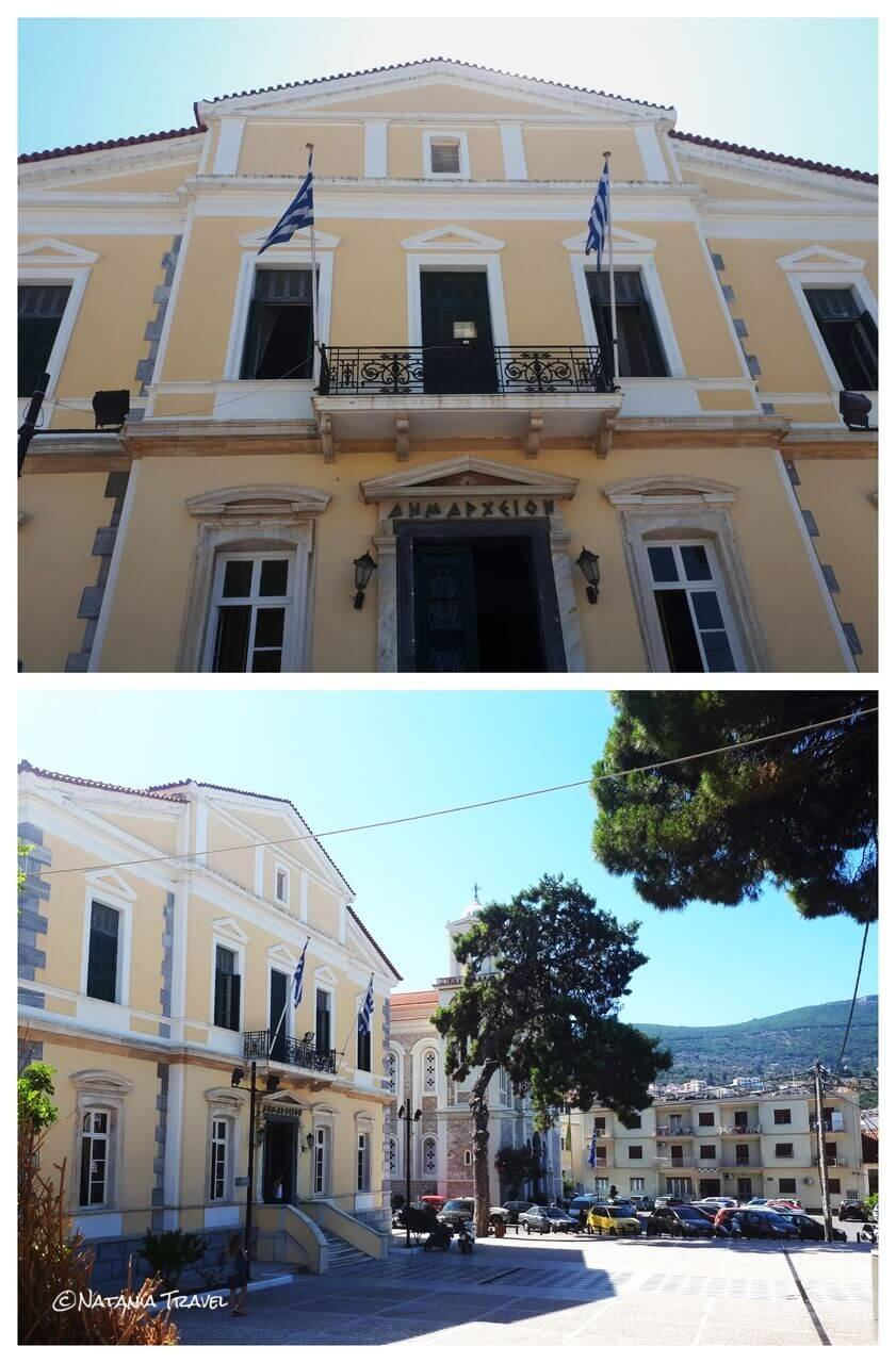 City hall, Vathy, Samos