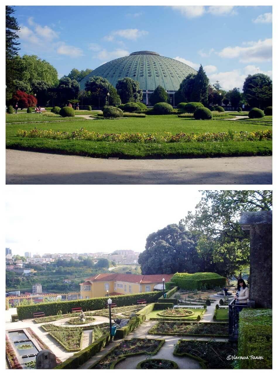 Palacio de Cristal and Jardim
