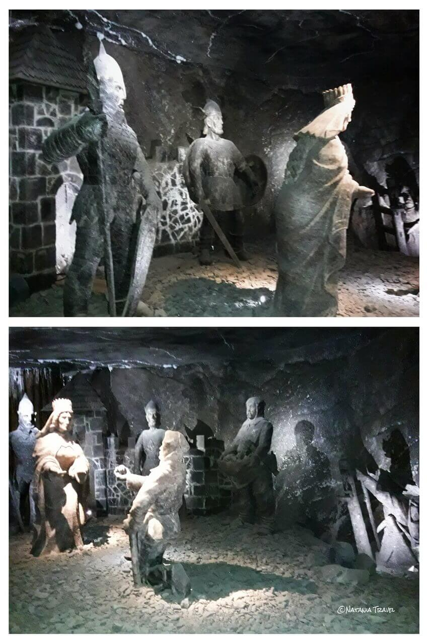 The salt sculptures, Wielizcka