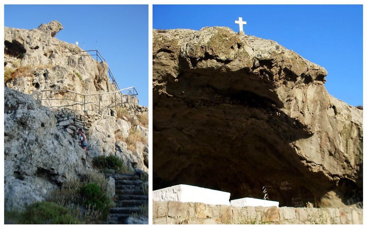The stairs to Panagia Kakaviotissa