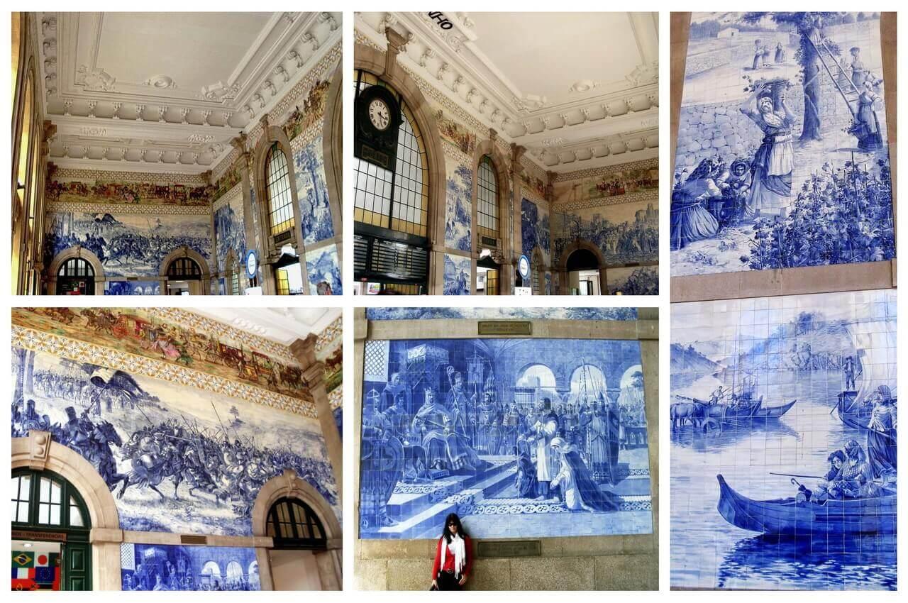 Porto, Sao Bento railway station