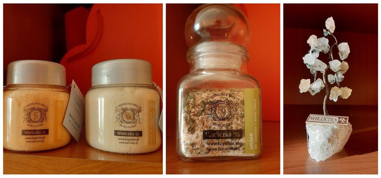 The salt bath, the salt as the spice and salt tree souvenir