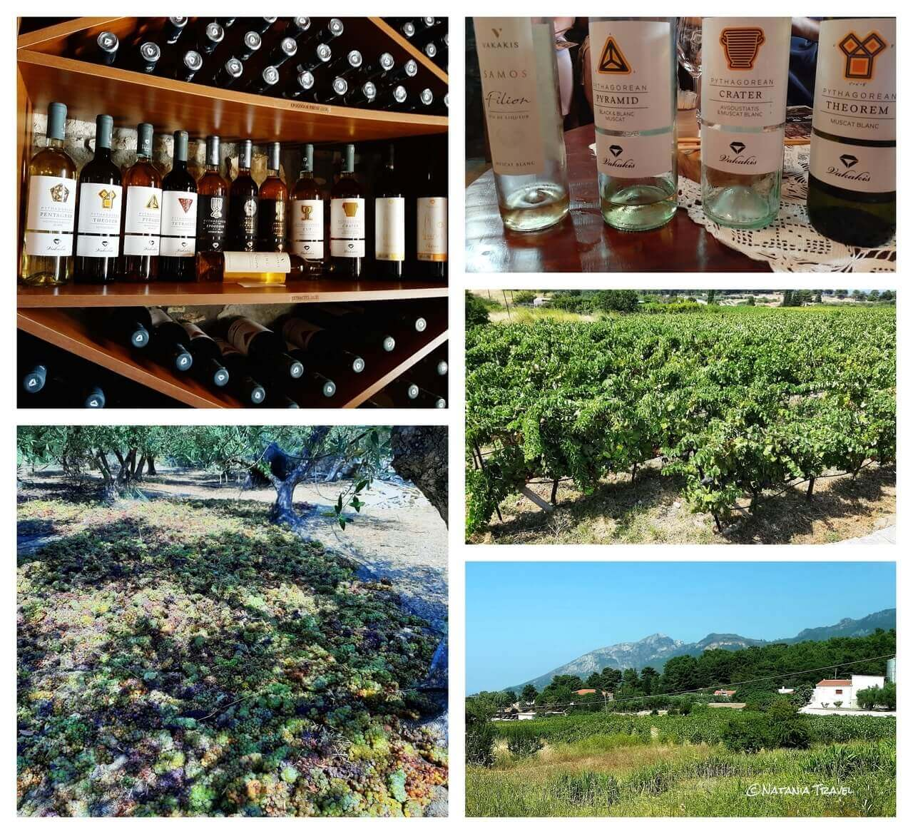 Vakakis winery, Samos