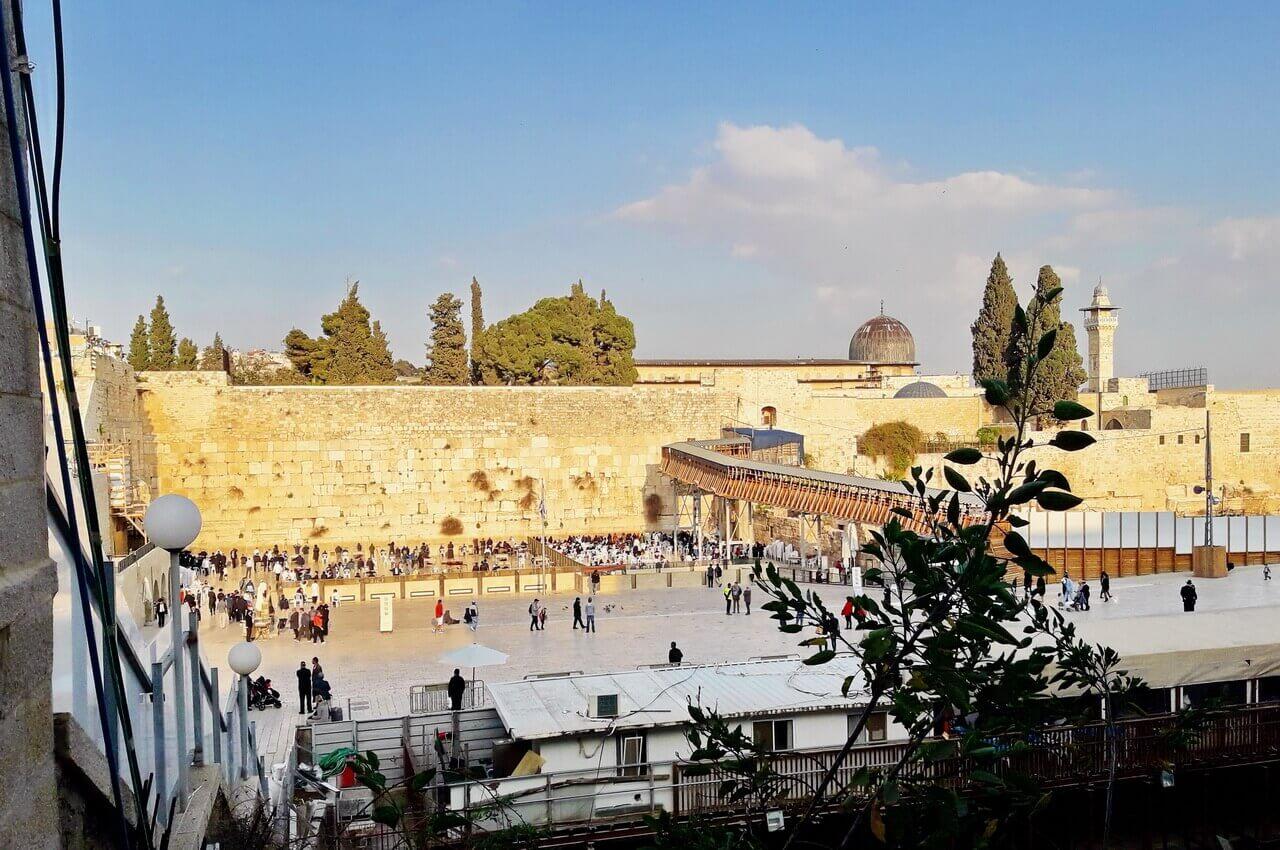 Western Wall, Jerusalem, Zid plača