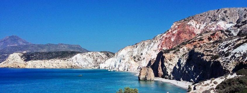 Milos Fyriplaka beach