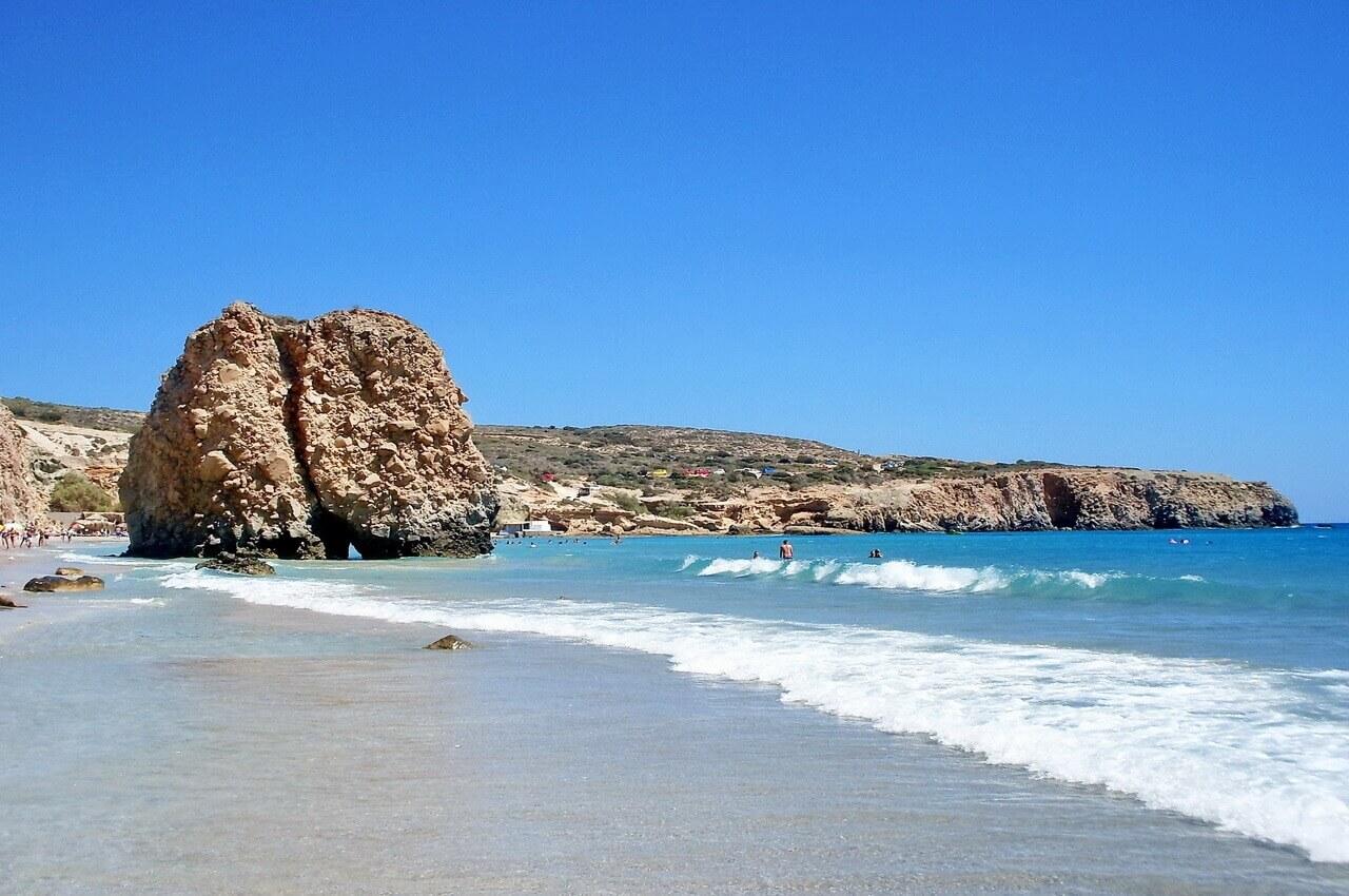 Fyriplaka beach, Milos