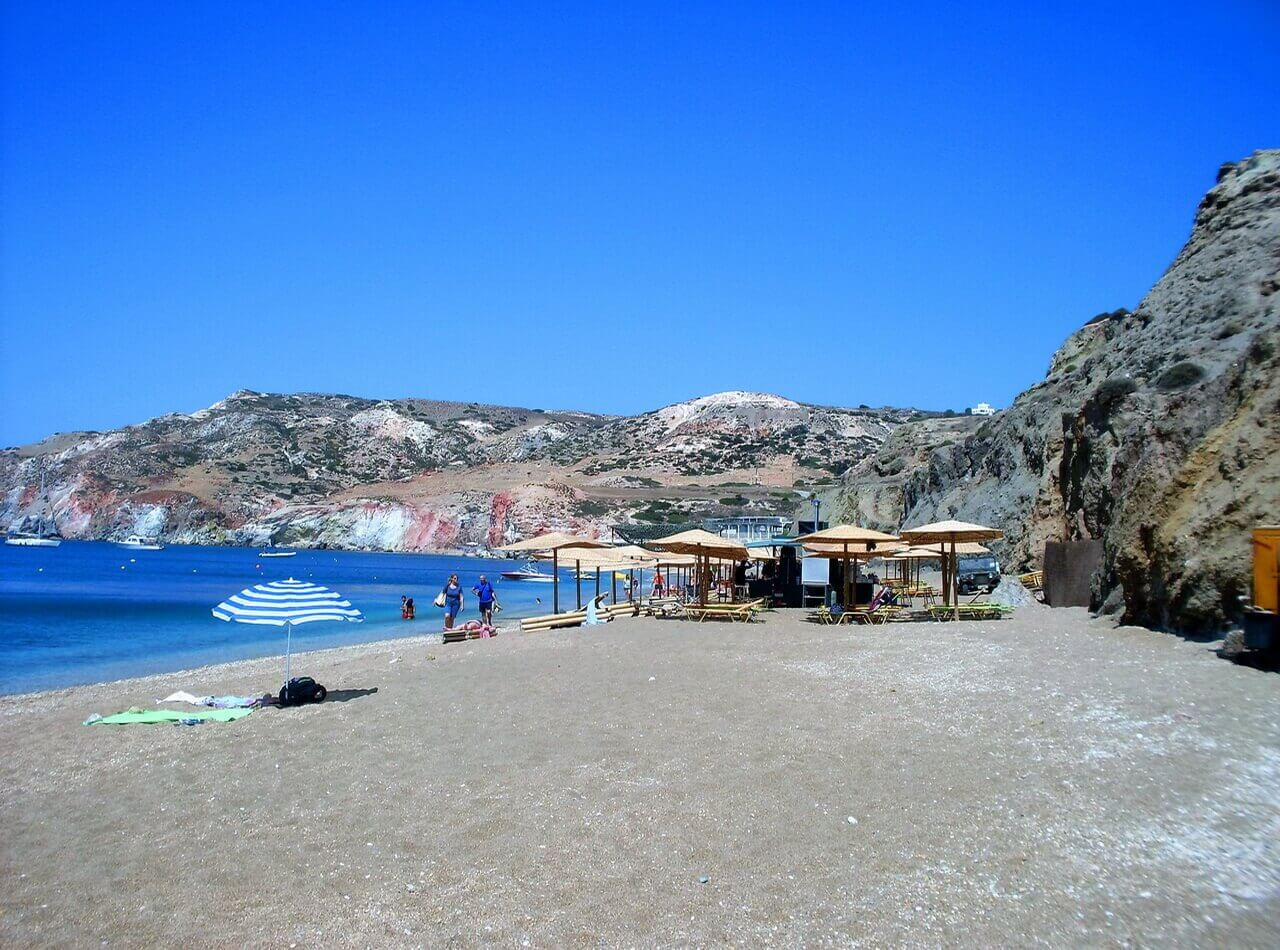 Paliochori beach, Milos