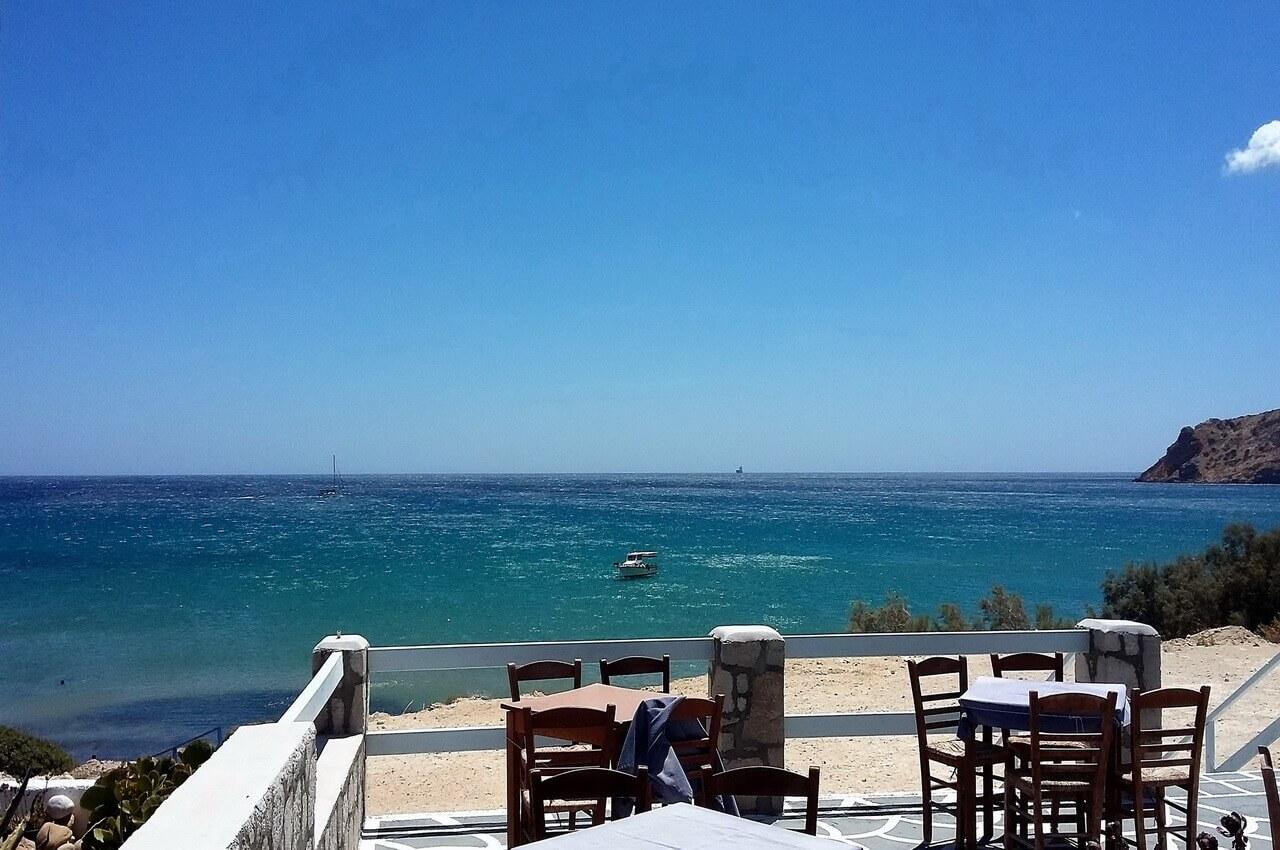 Provatos beach, Milos