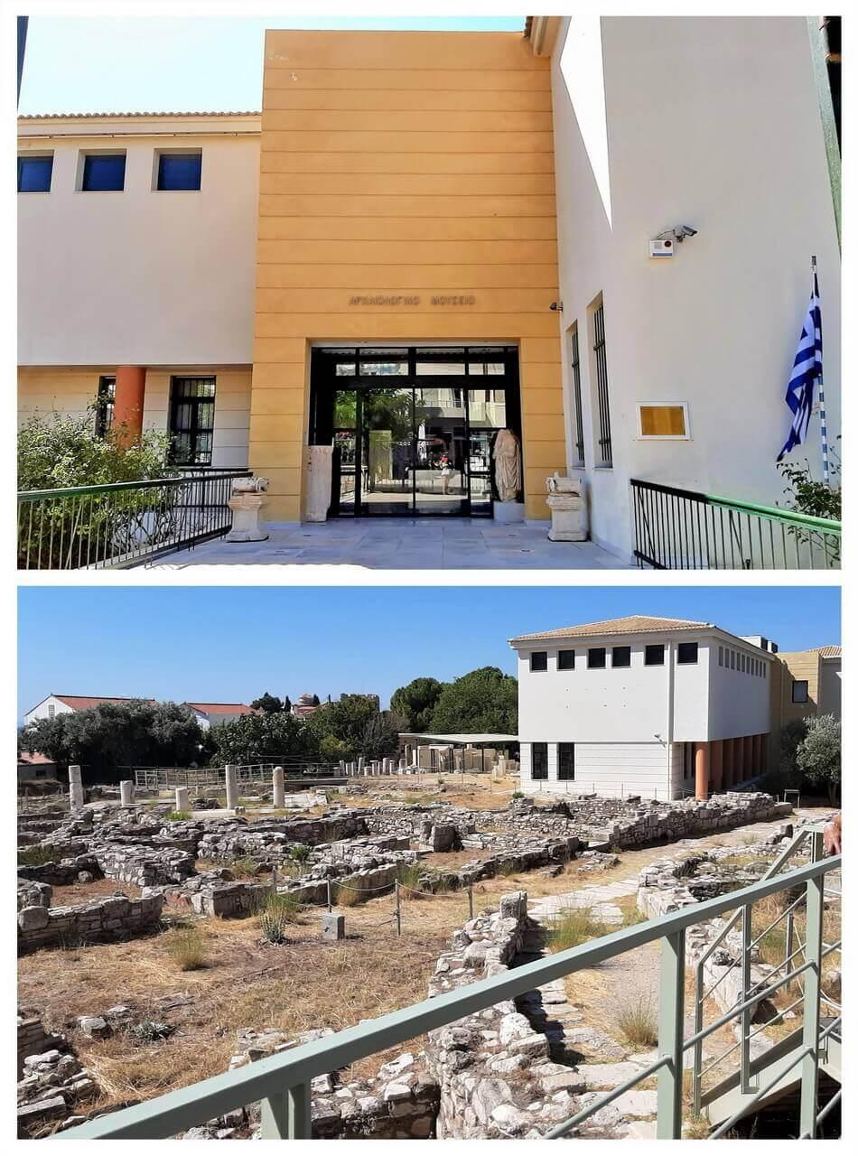 Archaeological Museum Pythagorion, Samos, Antički ostaci grada Samosa