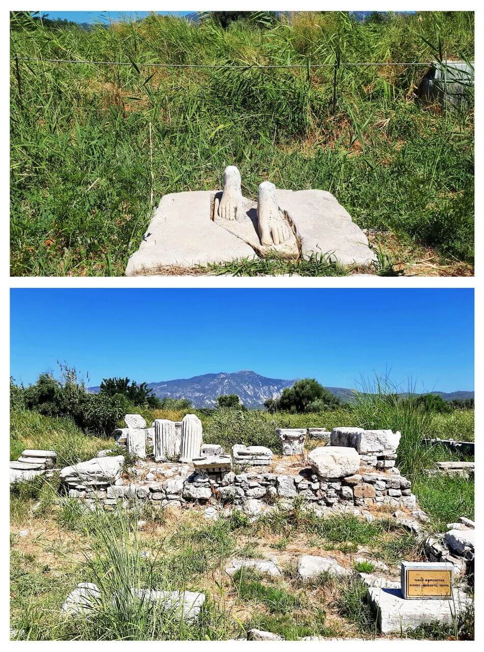 Ancient Heraion sanctuary, Samos, Antički Heraion