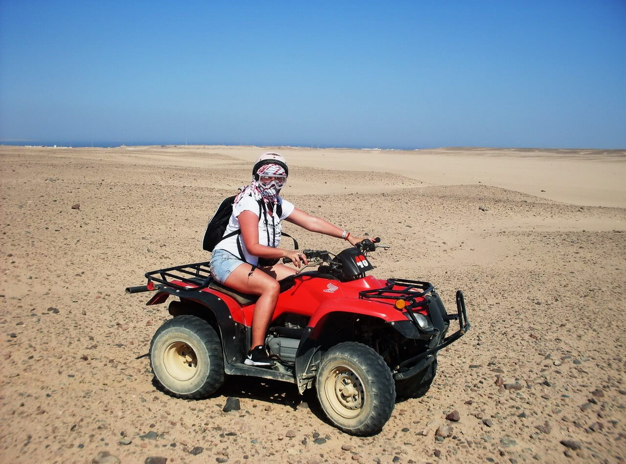 Quad bike, Desert safari Hurghada, pustinjski safari