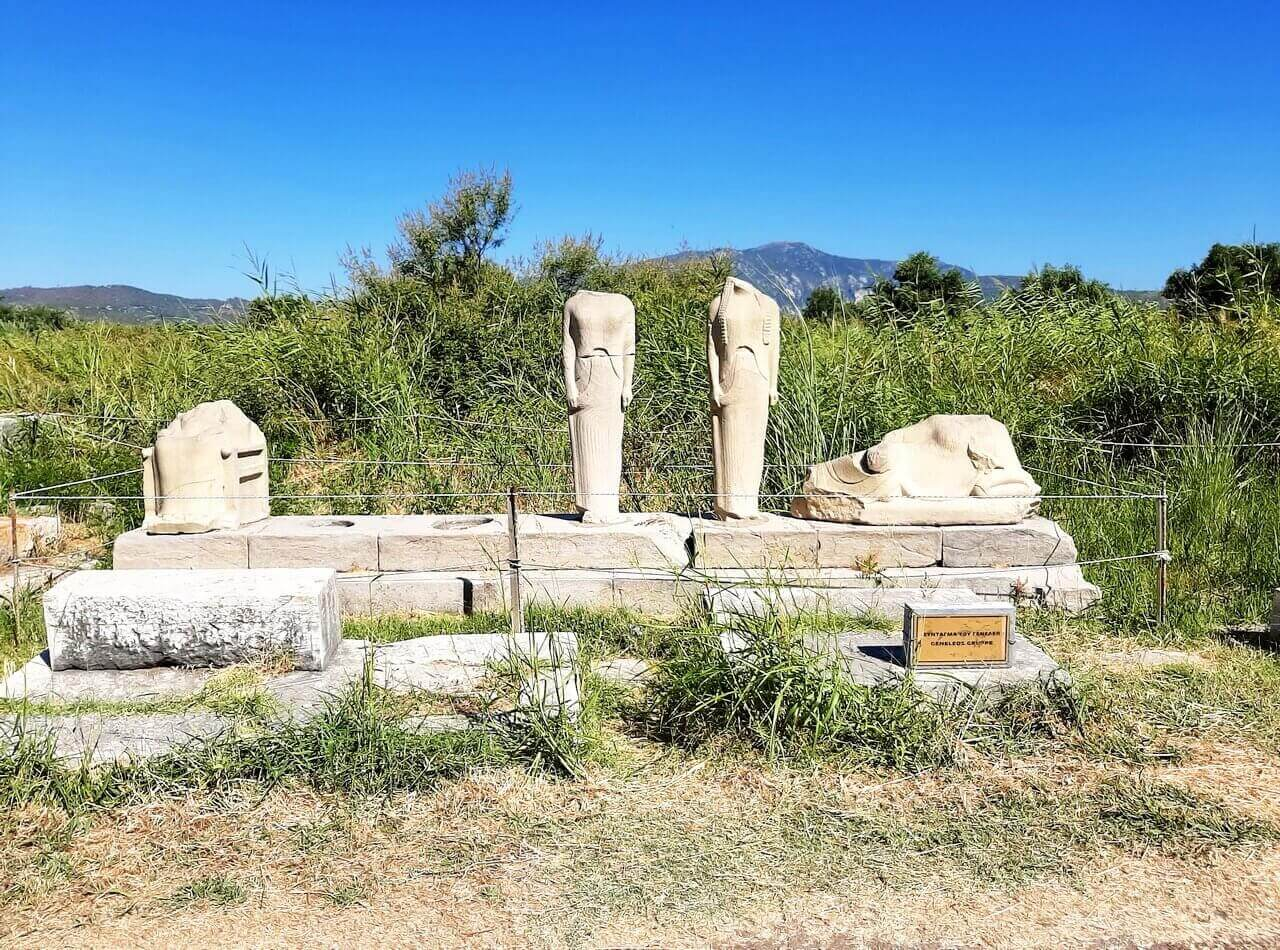 Group of Geneleos, ancient Temple of Hera
