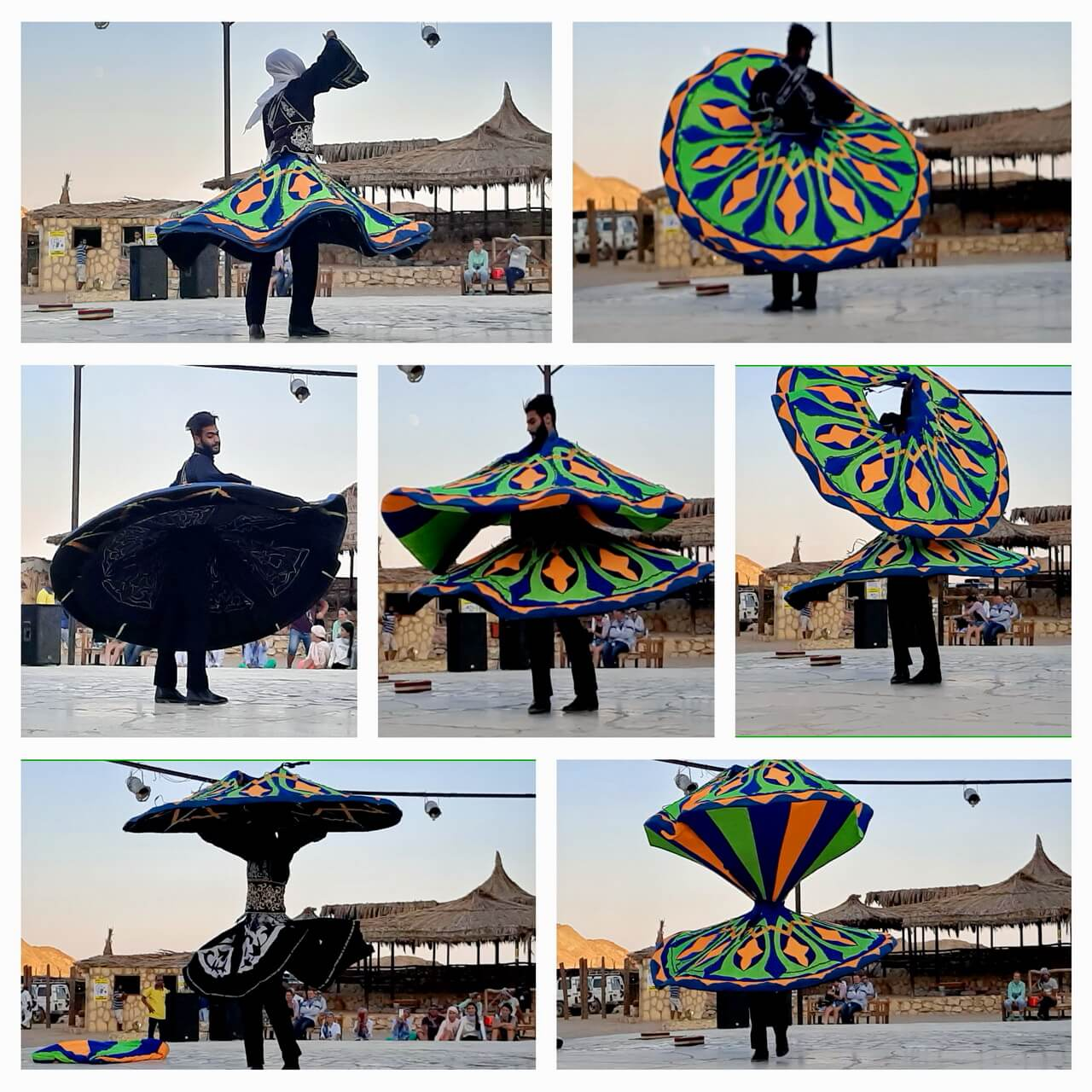 Tannoura dance or Dervish dance