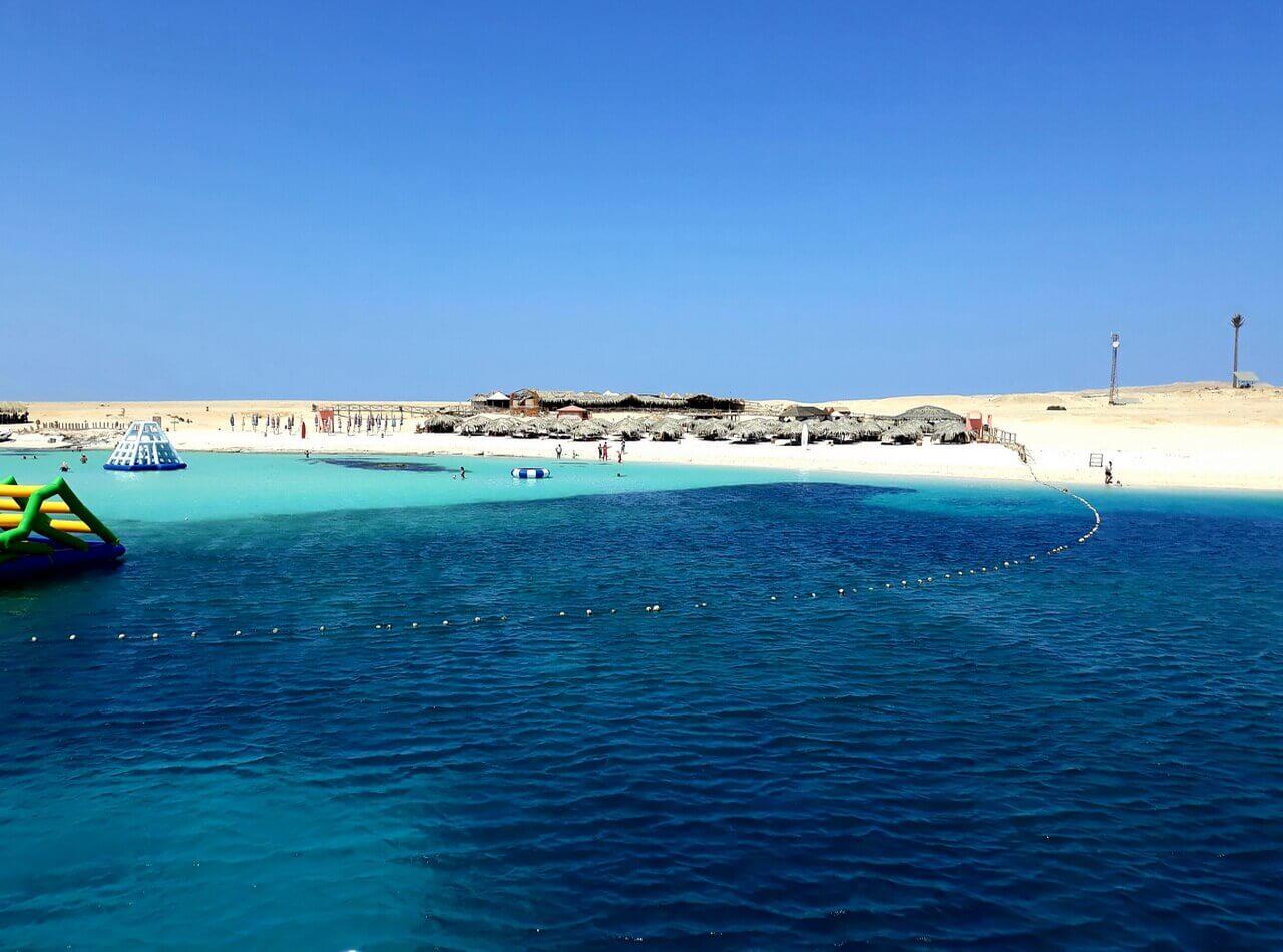 Paradise island beach, Giftun