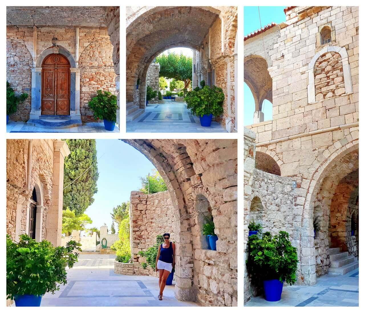 The Church of Metamorfosis, Logoghetis castle, Pythagorion