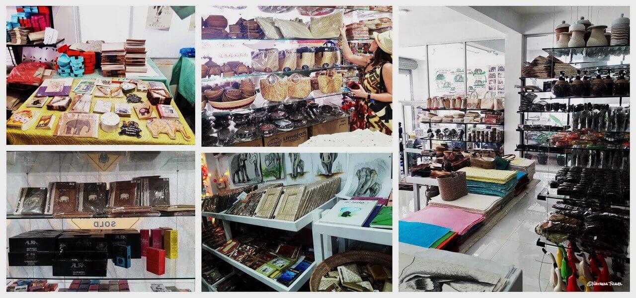 Dung-Eco Maximus shop, Pinnawala