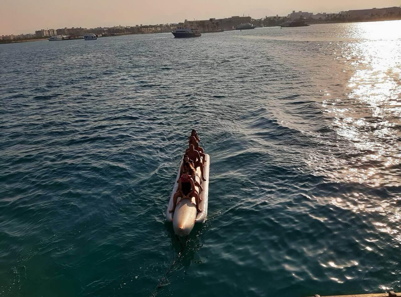 Banana ride, Hurghada