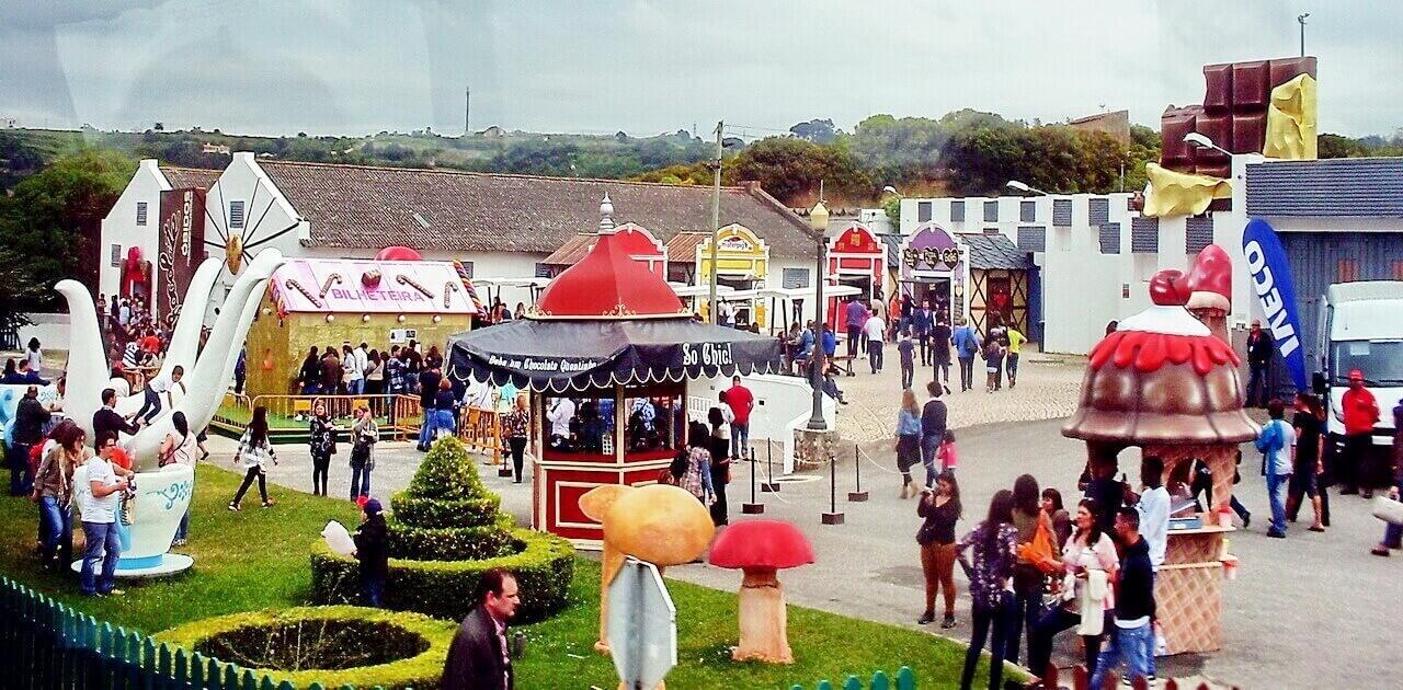 Chocolate festival in Obidos, 2015.