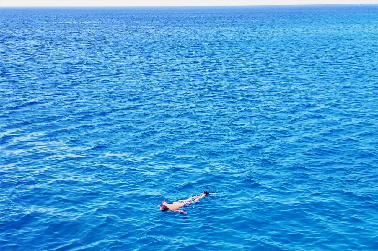 Endless blue sea, Hurghada